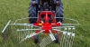 THE ROTARY SWATHER with three fixed points